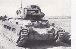 MILITARY -TANK POSTCARD - BRITISH MARK 11 MATILDA 11 - Equipment