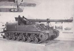 MILITARY -TANK POSTCARD - M40 155MM SELF PROPELLED GUN - Equipment