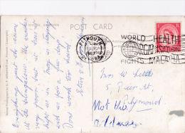 1962 CANCELLATION -WORLD HEALTH ORGANISATION FIGHTS MALARIA - Marcophilie