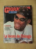 GIGANTES DEL SUPERBASKET, 556, 25-06-1996. DENNIS RODMAN, ARVYDAS SABONIS. - Revistas & Periódicos