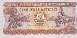 Mocambique - 50 Meticais (FDC, UNC) - Mozambique