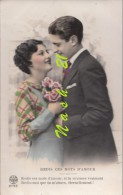 Carte  Postale Début  Du XXe S.  -   Couple    ''  Redis Ces Mots D' Amour  ... '' - Couples