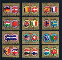 Honduras 1975 Flaggen Mi.Nr. 852/53 Kpl. Satz ** - Honduras
