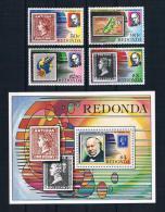 Redonda 1979 Briefmarken Kpl. Satz + Block ** - Antigua Und Barbuda (1981-...)