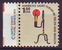 """USA - CANDLE + """" ZIP """" - **MNH - Plate Blocks & Sheetlets"""