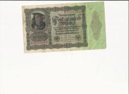Billets -  B1579- Allemagne  - 50 000 Mark  ( Type, Nature, Valeur, état... Voir 2 Scans) - [ 3] 1918-1933 : Weimar Republic