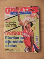 GIGANTES DEL SUPERBASKET, 594, 18-03-1997. IVERSON. PHILADELPHIA SIXERS. - Revistas & Periódicos