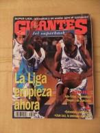 GIGANTES DEL SUPERBASKET, 596, 01-04-1997. COPA KORAC. CHARLES BARKLEY. UTAH JAZZ - Revistas & Periódicos