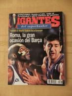 GIGANTES DEL SUPERBASKET, 597, 08-04-1997. ROMA. BARCELONA. REAL MADRID. - Revistas & Periódicos