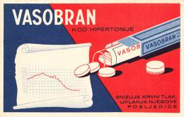 VASOBRAN-DRUG,MEDICINE 1930th - Croazia