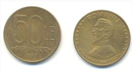 ROMANIA  50 LEI ANNO 1993 - Romania