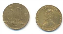 ROMANIA  50 LEI ANNO 1994 - Romania
