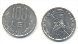 ROMANIA  100 LEI ANNO 1993 - Romania