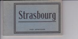 Carnet  DE   15   VUES  ARTISTIQUES  D  STRASBOURG - Cartoline