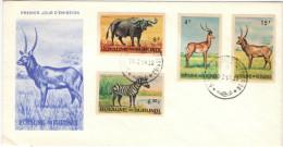 BURUNDI - 1964 - Wild Animals - High Values - 2 X FDC - 1962-69: Usati