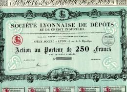Société LYONNAISE De DÉPÔTS Et De CRÉDIT INDUSTRIEL - Banque & Assurance