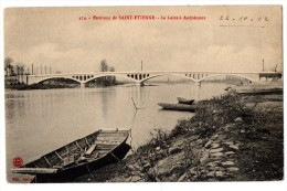 CP, 42, Environs De SAINT-ETIENNE, La Loire à Andrézieux, Ecrite En 1912 - France