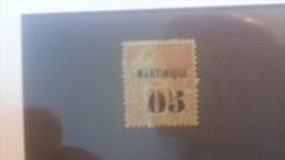 LOT 236461 TIMBRE DE COLONIE MARTINIQUE NEUF* N�4 VALEUR 20 EUROS