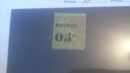 LOT 236465 TIMBRE DE COLONIE MARTINIQUE NEUF* N�11 VALEUR 35 EUROS