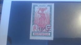LOT 236475 TIMBRE DE COLONIE MARTINIQUE NEUF* N�118a VALEUR 45 EUROS