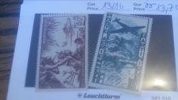LOT 236477 TIMBRE DE COLONIE MARTINIQUE NEUF* N�13/14 VALEUR 13,75 EUROS