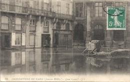 PARIS - 75 -   Inondations De Janvier 1910 - Le Quai Conti - ENCH11 - - Inondations De 1910