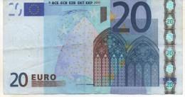20€ France Duisberg L004F1 Circulé Voir Scan - 20 Euro
