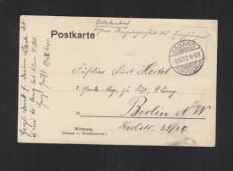 PK Sagard Rügen1912 Soldatenbrief Handschriftlich - Deutschland