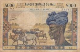 Banque Centrale Du  Mali. - Mali
