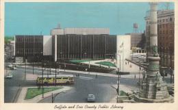 Carte Postale Buffalo And Erie County Public Library 1967 - Buffalo