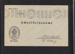 Württemberg 13. Armee-Korps Brief 1917 - Deutschland
