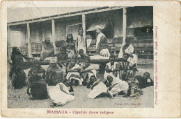 Massaua Ospedale Donne Indigene  Fot Neretti De Angeli Asmara Femmes Nues Medecin Blanc - Erythrée