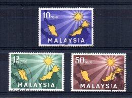 Malaysia - 1963 - Inauguration Of Federation - Used - Malaysia (1964-...)