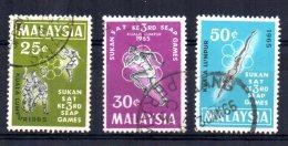 Malaysia - 1965 - 3rd South East Asian Games - Used - Malaysia (1964-...)