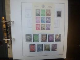 BELGIQUE TRES BELLE COLLECTION 1941-1959 NEUVE**  A VOIR !!! POID : 1 KILO 200 !