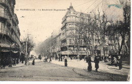 CP -   MARSEILLE - LE BOULEVARD DUGOMMIER - 157 - GUENDE - ANIMEE - Other