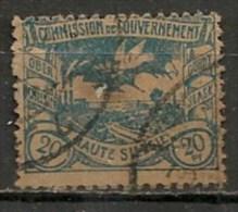 Timbres - Allemagne - Empire - Plébiscite - Haute Silésie - 20 Pf. -