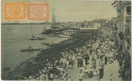 Surinam Roeiwedstrijd Op Koninginnejaardag Edit 118  C. Kersten Paramaribo To Fort De France Martinique - Surinam