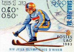 L 1983 Laos - Olimpiadi Invernali Di Sarajevo 84 - Invierno 1984: Sarajevo