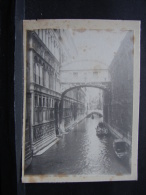 AF. Photo. 55. Ancienne Photo De Venise - Lieux