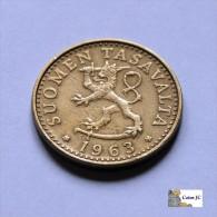 Finlandia - 20 Pennia - 1963 - Finlandia