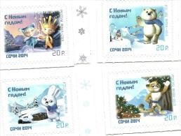 2013 - Russia - Mascotte Olimpiadi Invernali^ - Inverno 2014: Sotchi