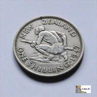 Nueva Zelanda - 1 Shilling - 1947 - Nouvelle-Zélande