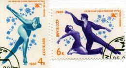 L - 1980 Russia - Olimpiadi Invernali Di Lake Placid - Invierno 1988: Calgary