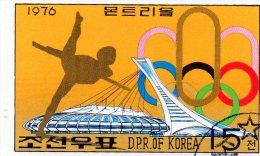 L - 1976 Corea Del Nord - Olimpiadi Invernali Di Innsbruck - Invierno 1976: Innsbruck