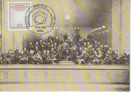 Berlin 1982 Berliner Philharmonisches Orchester 1v Maximum Card (18778) - [5] Berlijn