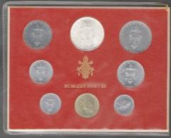 1974/XII Vatican City 8-Coin Mint Set Unc Pope Paul VI CITTA DEL VATICANO - Vaticaanstad