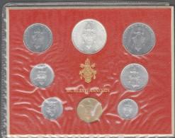1976/XIV Vatican City 8-Coin Mint Set Unc Pope Paul VI CITTA DEL VATICANO - Vaticano