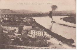 CPA 69 GIVORS - Vue  Générale Et Le Rhône - Givors