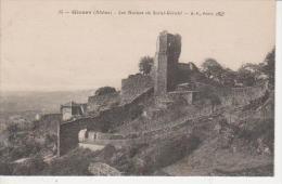 CPA 69 GIVORS -  - Ruines De St Gérald - Givors